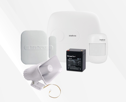 KIT ALARMA INALAMBRICA INTELBRAS