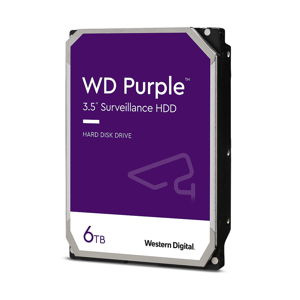 DISCO DURO 6TB WESTERN DIGITAL PURPLE VIDEO